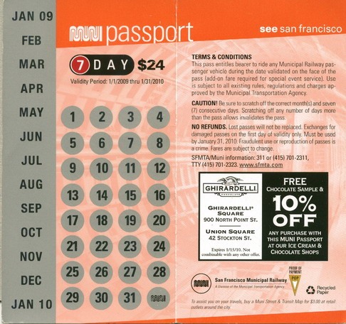 Muni Passport 2009